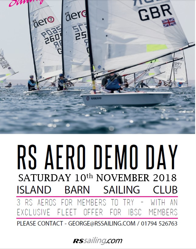 RS aero demo day