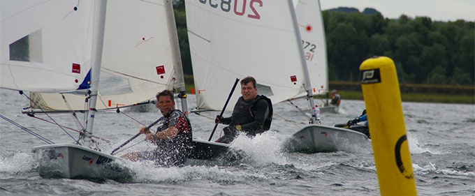 laser training from andy kerr at island barn reservoir sailing club