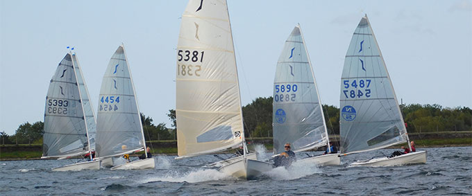 2020 Solo Open at island Barn Reservoir Sailing Club