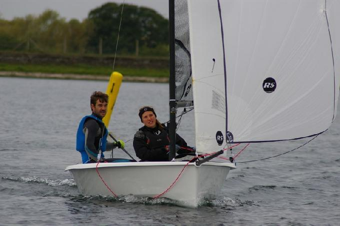 Ian Martin and Lucy Preston, winners of RS200 Inlands IBRSC (c) Jim Champ