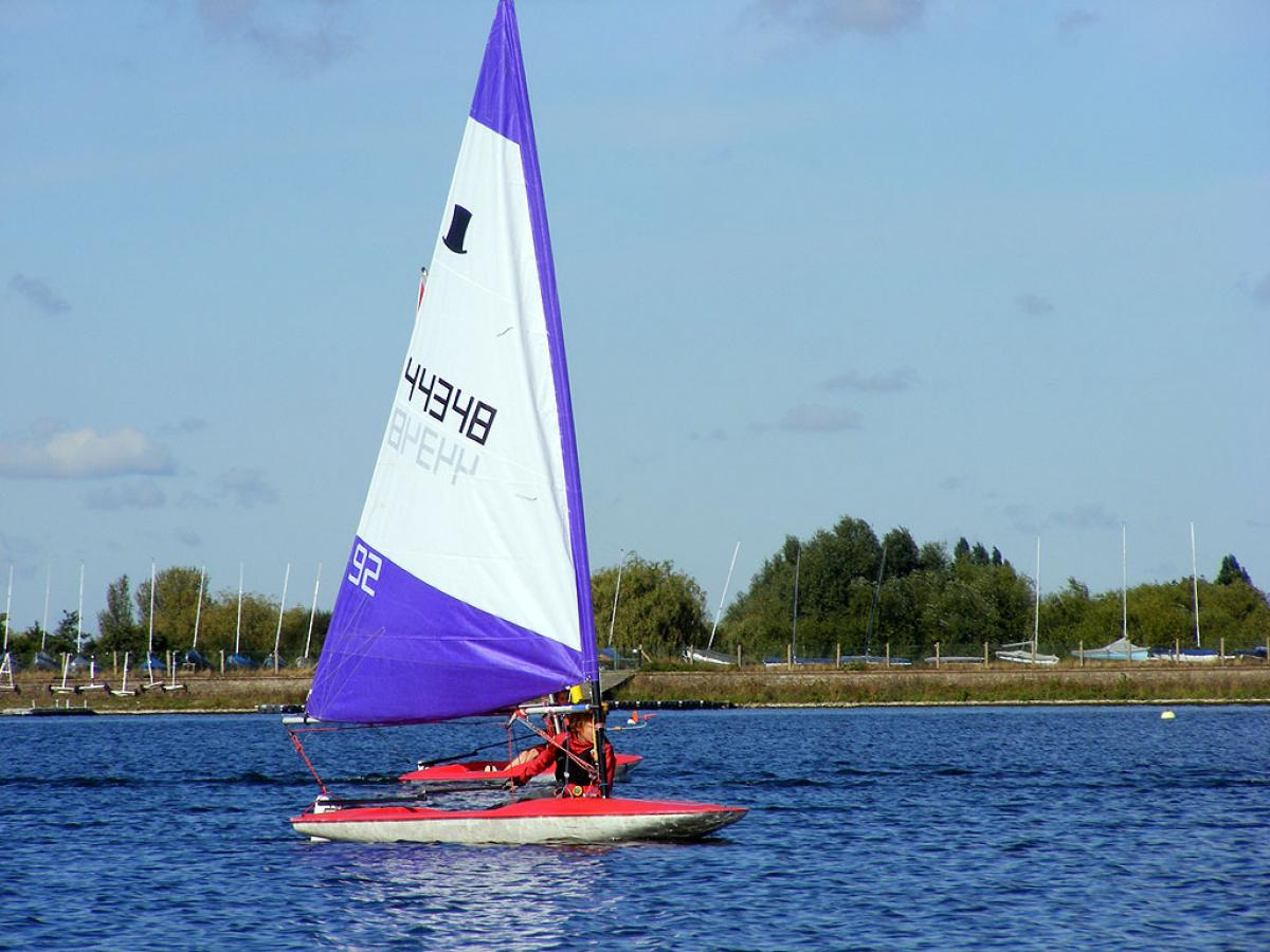 Topper Open 2012 Island Barn Reservoir Sailing Club 0060