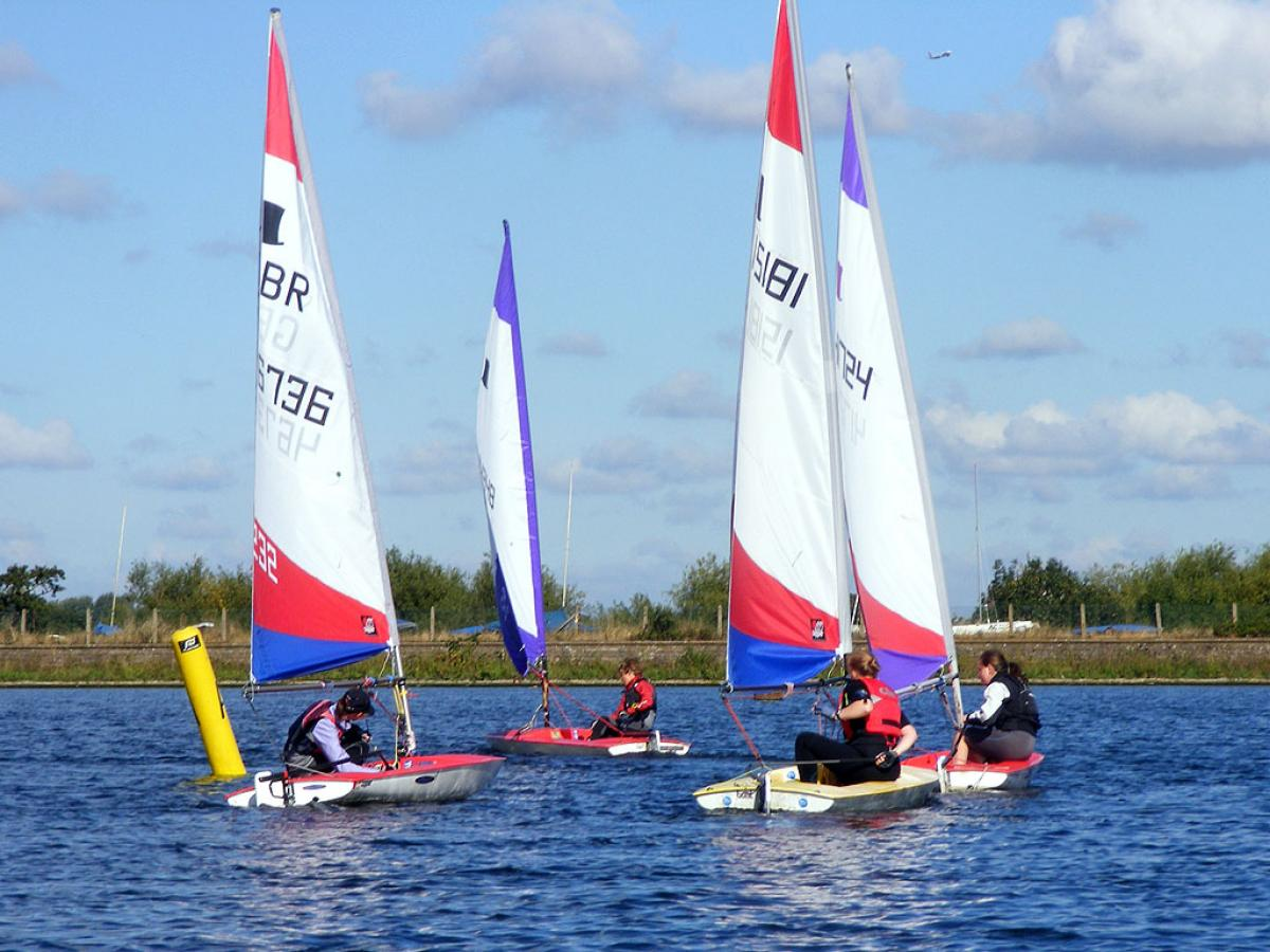 Topper Open 2012 Island Barn Reservoir Sailing Club 0075