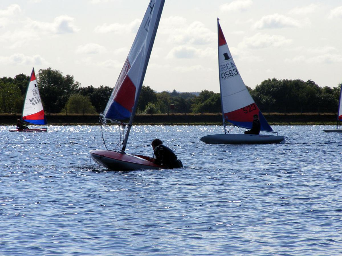 Topper Open 2012 Island Barn Reservoir Sailing Club 0098