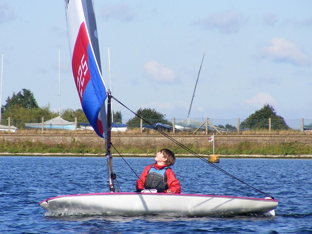 Topper Open 2012 Island Barn Reservoir Sailing Club 0101