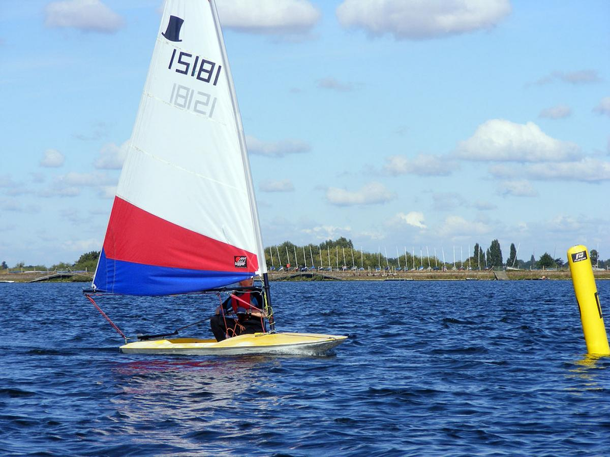 Topper Open 2012 Island Barn Reservoir Sailing Club 0136