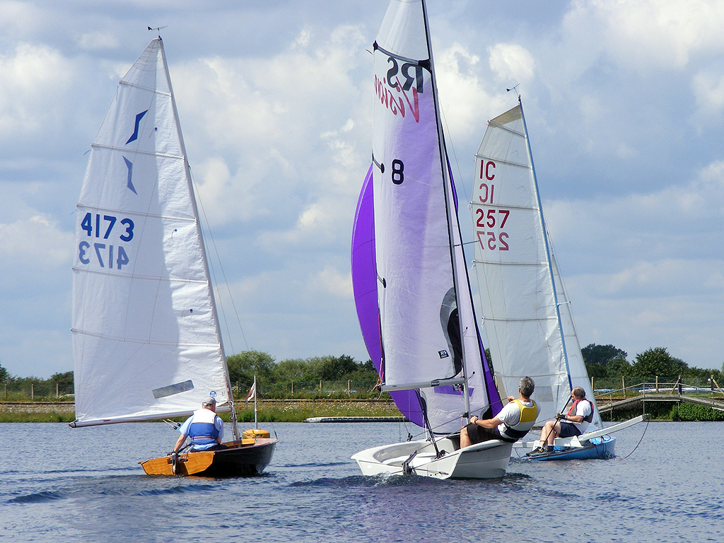 RYA Sail4Gold Island Barn Rservoir Sailing Club A