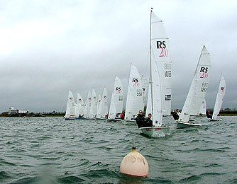 RS200 Dingy Open Race at Island Barn Reservoir Sailing Club