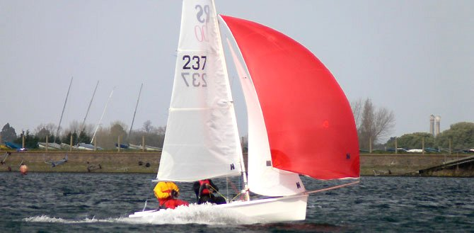RS 200 Dinghy Class at Island Barn Reservoir Sailing Club