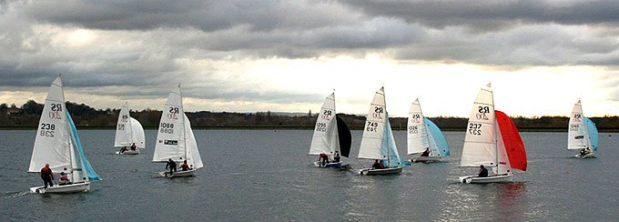 RS 200 Winter Open Series at Island Barn Reservoir Sailing Club