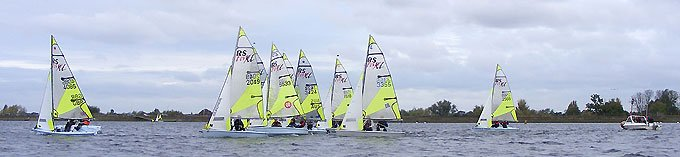 RS Feva Open at Island Barn Reservoir Sailing Club