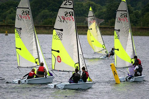 RS Feva Open at Island Barn Sailing Club