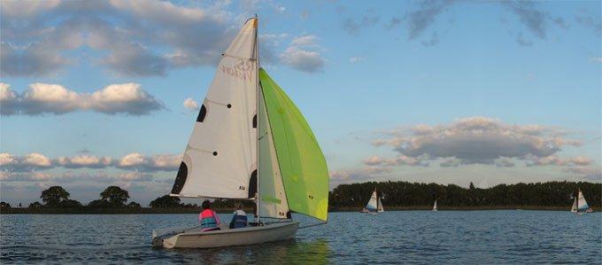 RS Vision Try Sailing at Island Barn Reservoir Sailing Club