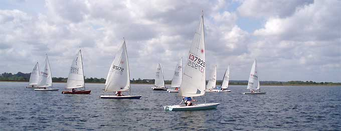 fleets at island barn reservoir sailing club