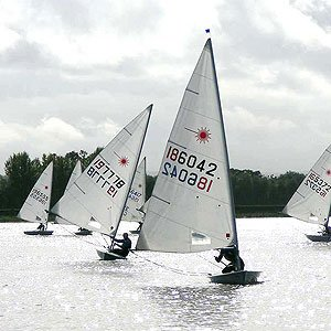 laser dinghy hire at island barn reservoir sailing club