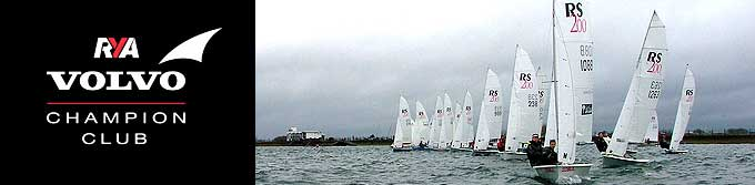 RS200 Open at Island Barn Reservoir Sailing Club
