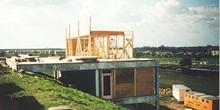 building the club house