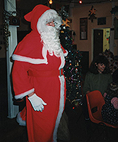 santa visits island barn reservoir sailing club