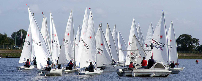 Laser Open at Island Barn Reservoir Sailing Club
