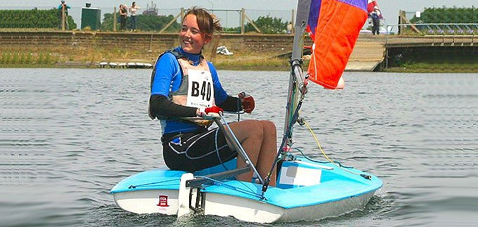 Topper Dinghy - London Youth Games at Island Barn Reservoir